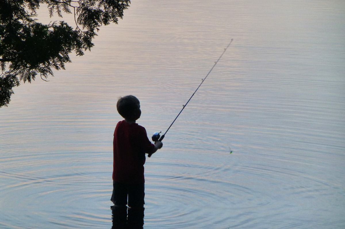 3 tips for getting folks hooked on fishing for Hooked on fishing